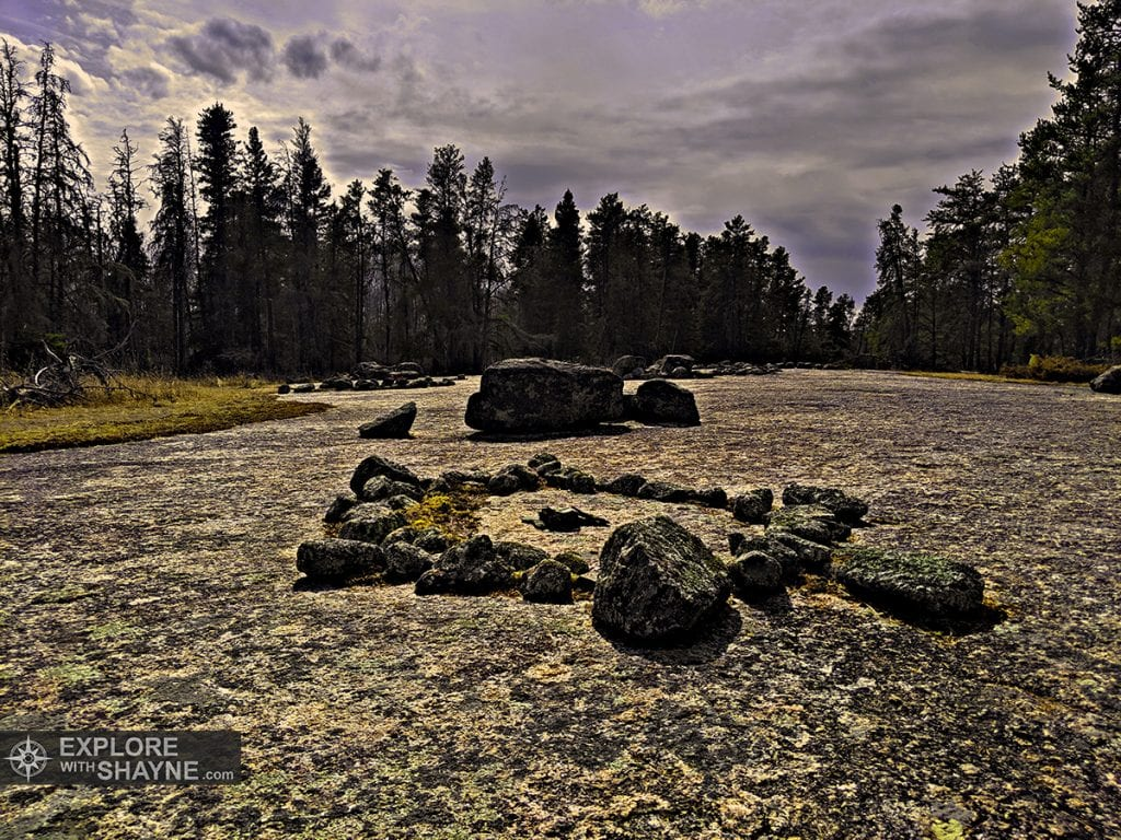 Bannock Point Petroforms (Whiteshell Provincial Park)